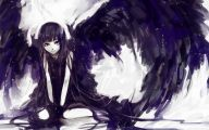 Anime Dark Angel Girl 17 Background Wallpaper