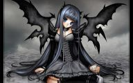 Anime Dark Angel Girl 29 Wide Wallpaper