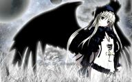 Anime Dark Angel Girl 7 Background Wallpaper