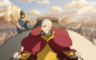 Aang Legend Of Korra 1 High Resolution Wallpaper
