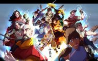 Aang Legend Of Korra 11 High Resolution Wallpaper