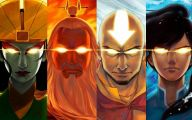 Aang Legend Of Korra 18 Background Wallpaper