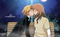 Anime Girl And Boy Kiss 1 Cool Wallpaper