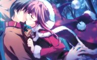 Anime Girl And Boy Kiss 18 High Resolution Wallpaper