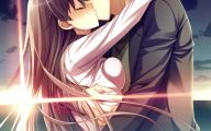 Anime Girl And Boy Kiss 24 Free Hd Wallpaper