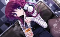 Anime Girl Assassin 4 Widescreen Wallpaper