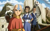 Avatar The Last Airbender Characters 2 Background Wallpaper