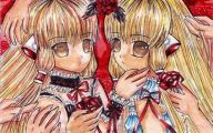 Chobits Chii And Freya 1 Background Wallpaper