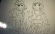 Chobits Chii And Freya 32 Cool Hd Wallpaper