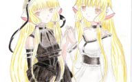 Chobits Chii And Freya 40 Background Wallpaper