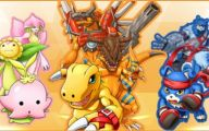 Digimon Creatures 18 Cool Wallpaper