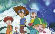 Digimon Creatures 28 Background Wallpaper