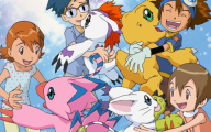 Digimon Creatures 39 Background Wallpaper