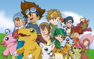 Digimon Creatures 7 Hd Wallpaper