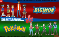 Digimon Vs Pokemon 11 Desktop Background
