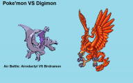 Digimon Vs Pokemon 17 Widescreen Wallpaper
