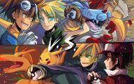 Digimon Vs Pokemon 23 Widescreen Wallpaper