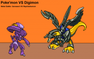 Digimon Vs Pokemon 30 Cool Wallpaper