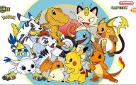 Digimon Vs Pokemon 32 Cool Hd Wallpaper
