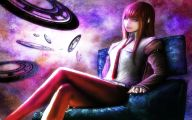 Kurisu Makise 2 Desktop Background