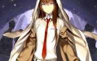 Kurisu Makise 25 Widescreen Wallpaper