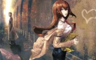 Kurisu Makise 28 Anime Wallpaper
