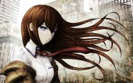 Kurisu Makise 30 Widescreen Wallpaper