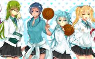 Kuroko's Basketball Cast 1 Free Wallpaper