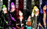 Kuroko's Basketball Characters 3 Desktop Background