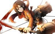Mikasa Ackerman 20 Wide Wallpaper