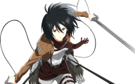 Mikasa Ackerman 23 Free Hd Wallpaper
