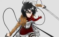 Mikasa Ackerman 32 Desktop Background