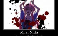 Mirai Nikki Dubbed 6 Background Wallpaper