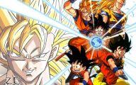 Son Goku 18 Anime Background