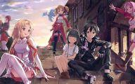 Sword Art Online Season 1 10 Background Wallpaper