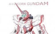 Gundam Unicorn 43 Desktop Background