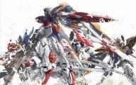 Gundam Wing 5 Background Wallpaper