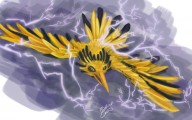 Pokemon Xy Zapdos 43 Wide Wallpaper