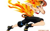 One Piece Ace  19 Free Wallpaper