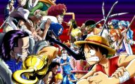 One Piece Characters  6 Wide Wallpaper