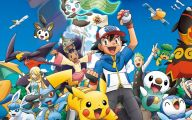 Pokemon 467 Widescreen Wallpaper
