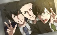 Psycho Pass Ginoza 12 Widescreen Wallpaper