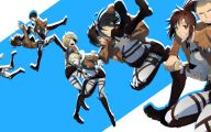 Shingeki No Kyojin Annie  17 Anime Wallpaper