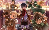 Shingeki No Kyojin Hd 45 Anime Background