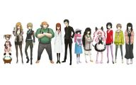 Steins Gate Characters  12 High Resolution Wallpaper