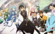 Sword Art Online Arcs  7 Anime Background