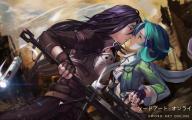 Sword Art Online Kirito And Sinon  14 Anime Background