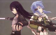 Sword Art Online Kirito And Sinon  16 Desktop Wallpaper