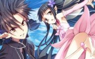 Sword Art Online Kirito And Sinon  27 Background Wallpaper