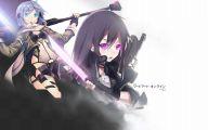 Sword Art Online Kirito And Sinon  3 Widescreen Wallpaper